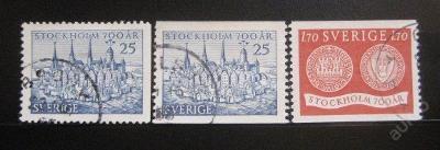 Švédsko 1953 Štockholm SC# 449-51 0068