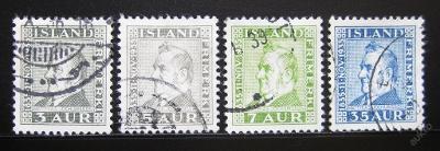 Island 1935 Jochumsson SC# 195-98 Kat 250Kc 0081