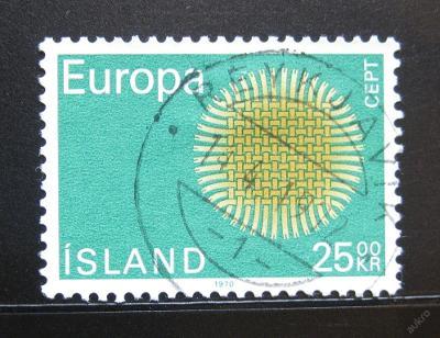 Island 1970 Evropa CEPT SC# 421 0083