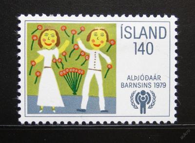 Island 1979 Mezinárodní den dětí SC# 519 0083
