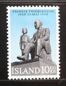Island 1968 Fridrik Fridriksson SC# 399 0083