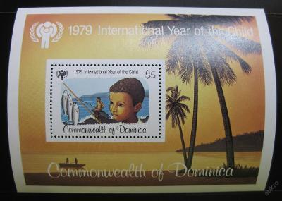 Dominika 1979 Mezinárodní rok dětí SC# 617 0118