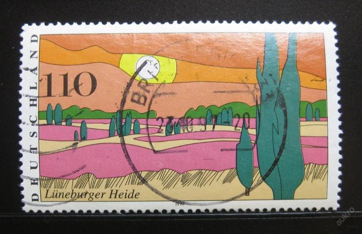 Německo 1997 Luneburger Heide Mi# 1944 0108 - Filatelie