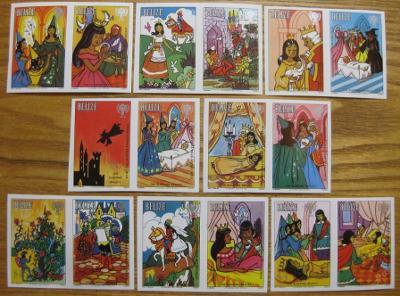 Belize 1980 Mez.rok dětí Mi# 518B-25B 60 Euro 0111