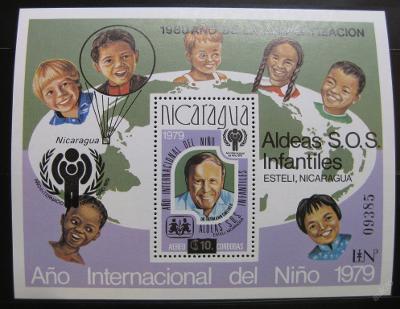 Nikaragua 1979 Mez.rok dětí Mi# Block 133 35€ 0136