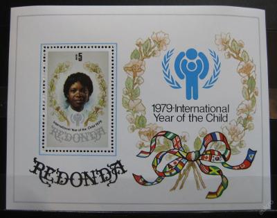 Redonda 1979 Mezinárodní rok dětí Mi# Block 4 0121