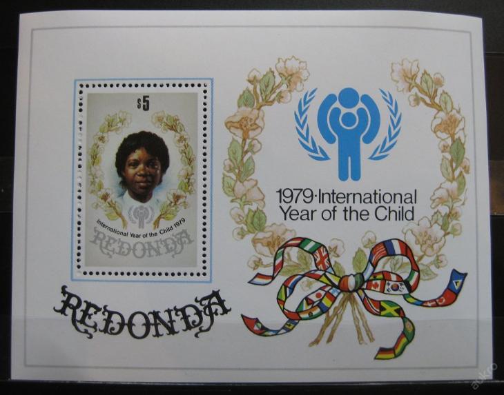 Redonda 1979 Mezinárodní rok dětí Mi# Block 4 0121 - Filatelie