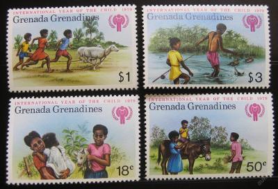 Grenada Gren. 1979 Mezin. rok dětí Mi# 325-28 0143