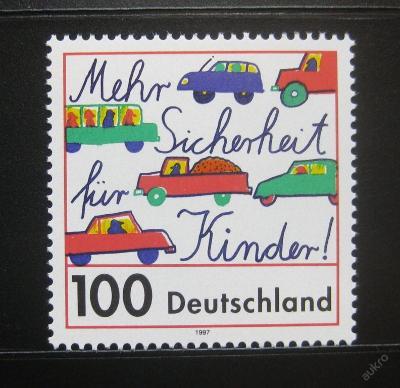 Německo 1997 Bezpečnost dětí Mi# 1897 0258