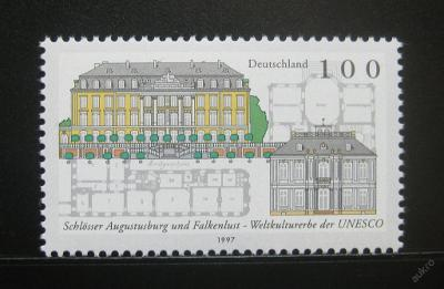 Německo 1997 Zámky UNESCO Mi# 1913 0258
