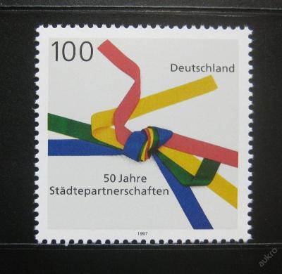 Německo 1997 Sesterská města Mi# 1917 0258