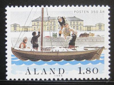 Alandy 1988 Poštovní služby Mi# 26 0378