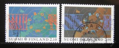 Finsko 1991 Evropa CEPT Mi# 1144-45 0460