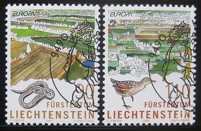 Lichtenštejnsko 1999 Evropa CEPT Mi# 1190-91 0440