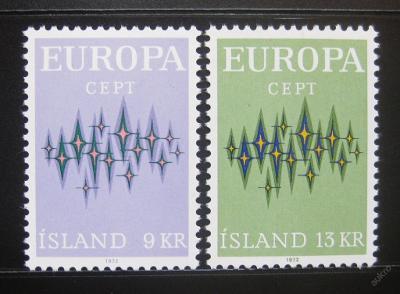 Island 1972 Evropa CEPT Mi# 461-62 0780