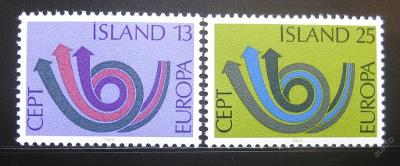 Island 1973 Evropa CEPT Mi# 471-72 0780
