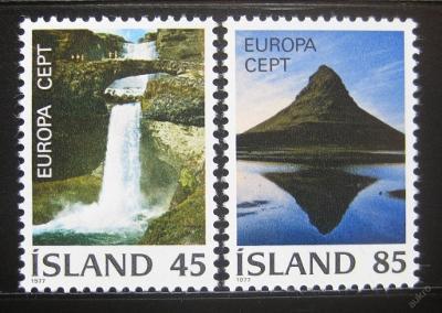 Island 1977 Evropa CEPT Mi# 522-23 0781