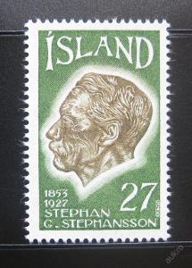 Island 1975 Stephan G. Stephansson Mi# 504 0781