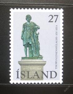 Island 1975 Socha Thorvaldsena Mi# 511 0781