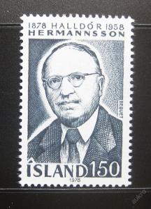 Island 1978 Halldor Hermannsson Mi# 538 0781