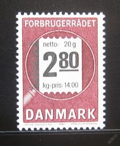 Dánsko 1987 Koncil spotřebitelů Mi# 890 0779