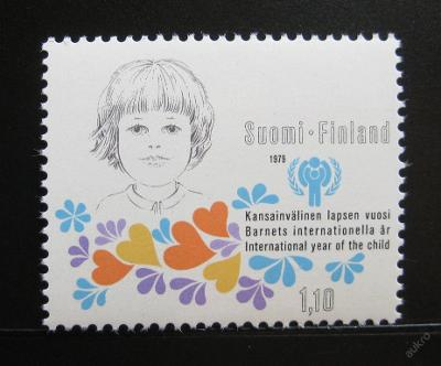 Finsko 1979 Mezinárodní rok dětí Mi# 836 0198