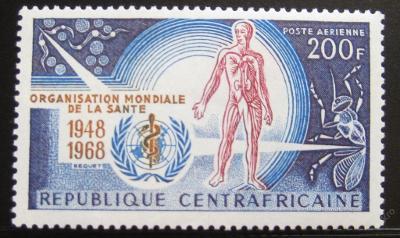 SAR 1968 Výročí WHO Mi# 157 0208