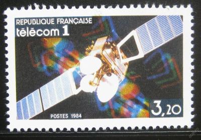Francie 1984 Telecom I Satelit Mi# 2459 0212
