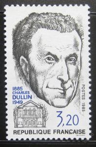 Francie 1985 Charles Dullin Mi# 2521 0213