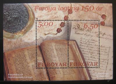 Faerské o. 2002 Reprezent.koncil Mi# Block 13 0228