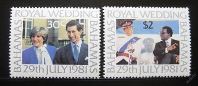 Bahamy 1981 Královská svatba Mi# 480-81 0852