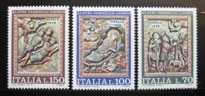 Itálie 1975 Vánoce Mi# 1513-15 0905