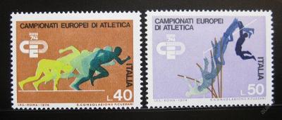 Itálie 1974 ME v atletice Mi# 1453-54 0908