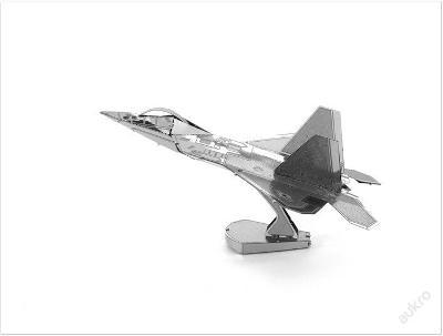 NANO 3D puzzle F22 Raptor nejlepší dárek *12