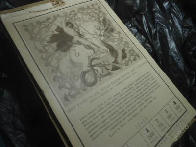 Štenclův kalendář 1920 - Josef Mánes