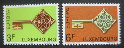 Lucembursko 1968 Evropa CEPT Mi# 771-72 0003