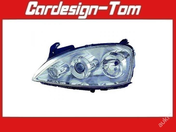 Světlo Světla přední OPEL CORSA/COMBO C 03-10 - Náhradní díly a příslušenství pro osobní vozidla