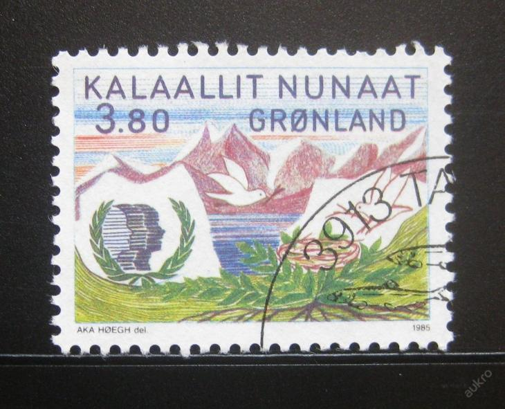Grónsko 1985 Rok mládeže Mi# 160 0654 - Filatelie