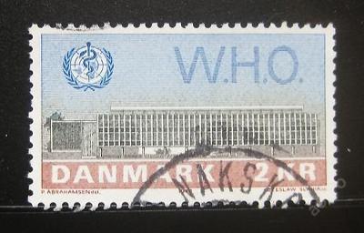 Dánsko 1972 Budova WHO, Kodaň Mi# 531 0786