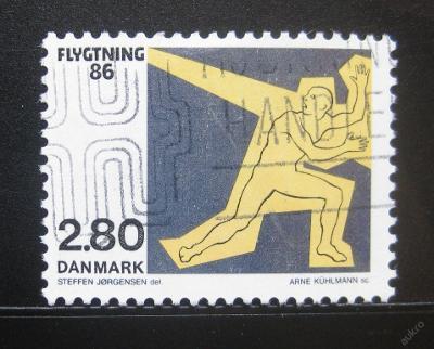 Dánsko 1986 Pomoc uprchlíkům Mi# 884 0787