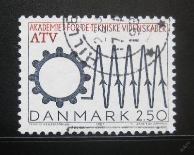 Dánsko 1987 Akademie technických věd Mi# 894 0787