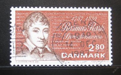 Dánsko 1987 Rasmus Rask Mi# 903 0787