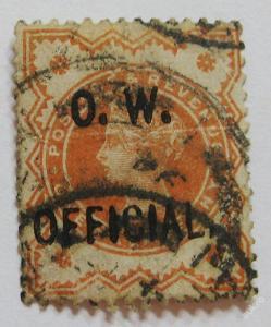 Velká Británie 1896 Úřední Mi# 64 90€ 0653