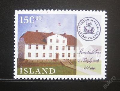 Island 1996 Škola v Reykjavíku Mi# 855 3.50€ 0653