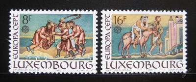 Lucembursko 1983 Evropa CEPT Mi# 1074-75 0352