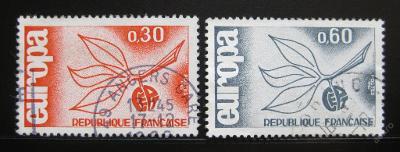 Francie 1966 Evropa CEPT Mi# 1521-22 0354