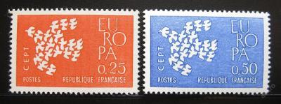 Francie 1961 Evropa CEPT Mi# 1363-64 0354