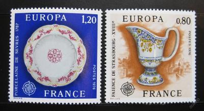 Francie 1976 Evropa CEPT Mi# 1961-62 0354
