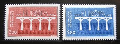 Francie 1984 Evropa CEPT Mi# 2441-42 0354