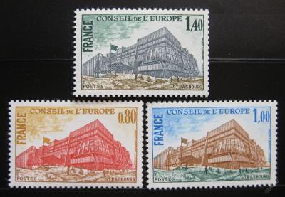 Francie 1977 Rada Evropy Mi# 20-22 0354